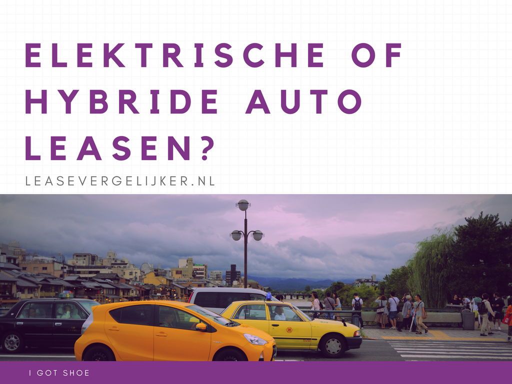 Elektrische of hybride leaseauto